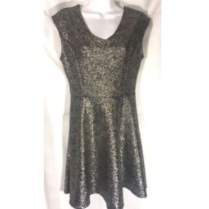 One Clothing Los Angeles Dress Metallic Size Small